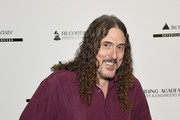 """""""Weird Al"""" Yankovic attends the Producers & Engineers Wing 12th annual GRAMMY week event honoring Willie Nelson at Village Studios on February 6, 2019 in Los Angeles, California."""