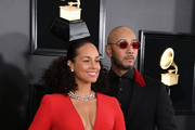 Alicia Keys and Swizz Beatz attend the 61st Annual GRAMMY Awards at Staples Center on February 10, 2019 in Los Angeles, California.