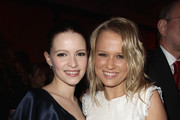 Actress Jennifer Ulrich and Nova Meierhenrich  attend the Medienboard Reception during day three of the 61st Berlin International Film Festival at Ritz Carlton on February 12, 2011 in Berlin, Germany.