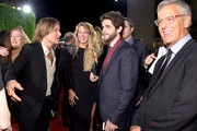 Keith Urban, Thomas Rhett and Lauren Gregory attend the 62nd annual BMI Country awards on November 4, 2014 in Nashville, Tennessee.