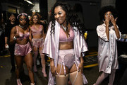 Ariana Grande backup dancers attend the 62nd Annual GRAMMY Awards at STAPLES Center on January 26, 2020 in Los Angeles, California.