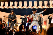 BTS, Billy Ray Cyrus, and Lil Nas X  perform onstage during the 62nd Annual GRAMMY Awards at STAPLES Center on January 26, 2020 in Los Angeles, California.