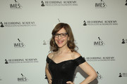 Lisa Loeb attends the Producers & Engineers Wing 13th annual GRAMMY week event honoring Dre. Dre at Village Studios on January 22, 2020 in Los Angeles, California.