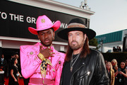 (L-R) Lil Nas X and Billy Ray Cyrus attend the 62nd Annual GRAMMY Awards at STAPLES Center on January 26, 2020 in Los Angeles, California.
