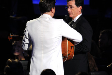 Stephen Colbert Jimmy Fallon 62nd Annual Primetime Emmy Awards - Show