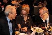 (L-R) DGA Awards Co-Chair Clint Eastwood actress Kate Capshaw and DGA Awards Co-Chair Steven Speilberg attend the 63rd Annual Directors Guild Of America Awards held at the Grand Ballroom at Hollywood & Highland on January 29, 2011 in Hollywood, California.