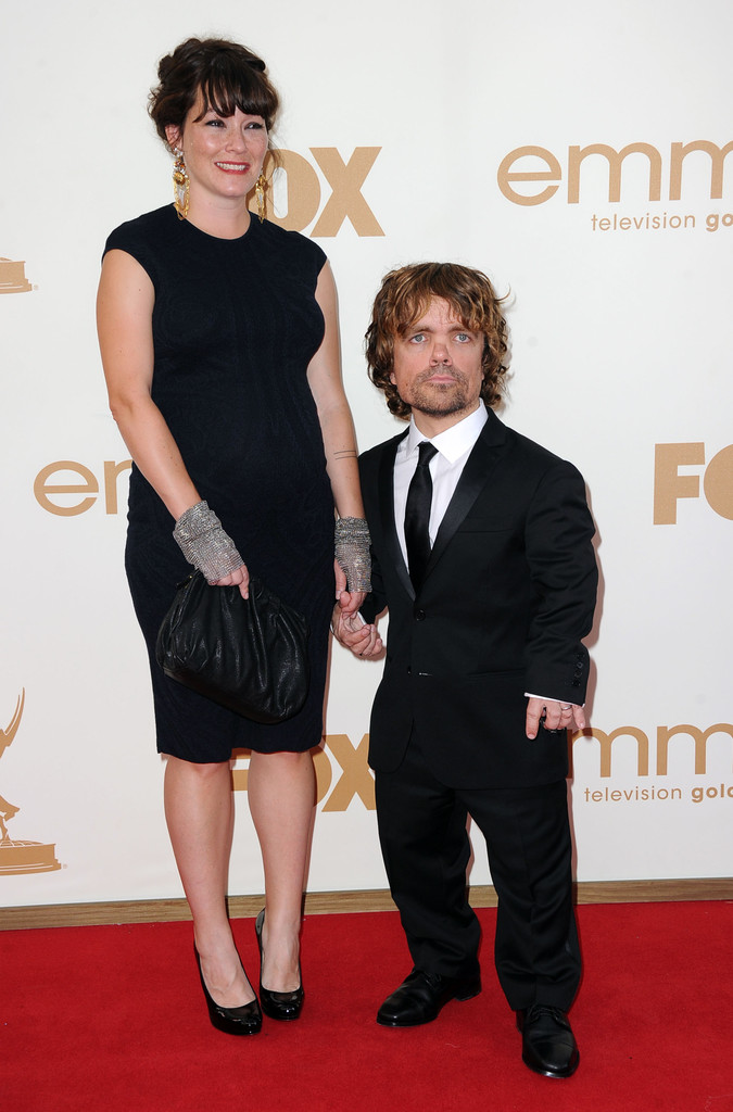 Peter Dinklage and Erica Schmidt Photos Photos - 63rd ...