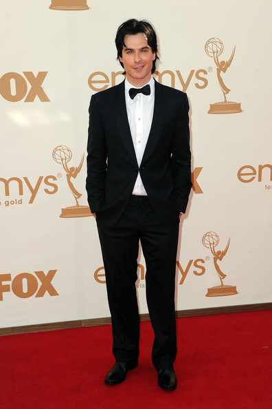 Actor Ian Somerhalder arrives at the 63rd Annual Primetime Emmy Awards held at Nokia Theatre L.A. LIVE on September 18, 2011 in Los Angeles, California.