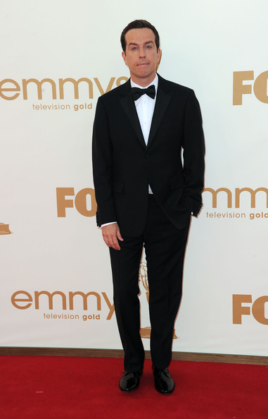 Actor Ed Helms arrives at the 63rd Annual Primetime Emmy Awards held at Nokia Theatre L.A. LIVE on September 18, 2011 in Los Angeles, California.