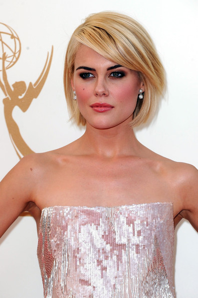 Actress Rachael Taylor arrives at the 63rd Annual Primetime Emmy Awards held at Nokia Theatre L.A. LIVE on September 18, 2011 in Los Angeles, California.