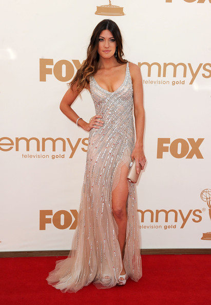 Actress Jennifer Carpenter arrives at the 63rd Annual Primetime Emmy Awards held at Nokia Theatre L.A. LIVE on September 18, 2011 in Los Angeles, California.