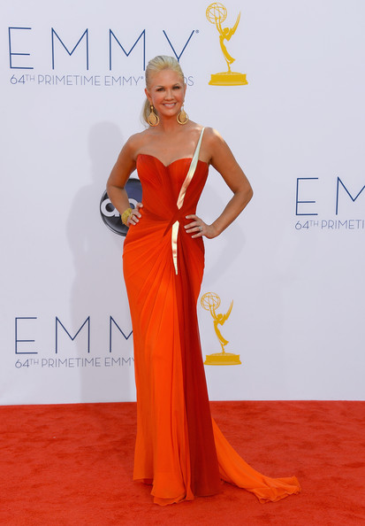Television personality Nancy O'Dell arrives at the 64th Annual Primetime Emmy Awards at Nokia Theatre L.A. Live on September 23, 2012 in Los Angeles, California.