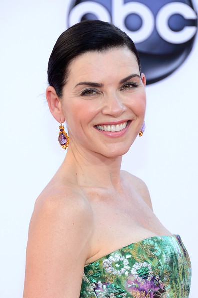 Actress Julianna Margulies arrives at the 64th Annual Primetime Emmy Awards at Nokia Theatre L.A. Live on September 23, 2012 in Los Angeles, California.