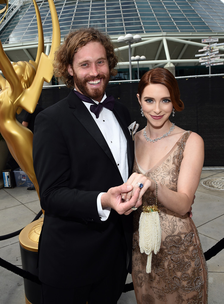 T.J. Miller and Kate Gorney - The Hottest Couples at the ...