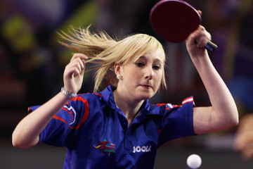 Charlotte Carey 66th English Open Table Tennis - Day One