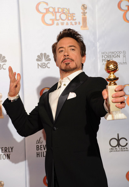 67th Annual Golden Globe Awards - Press Room. In This Photo: Robert Downey