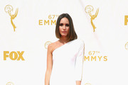 TV personality Louise Roe attends the 67th Annual Primetime Emmy Awards at Microsoft Theater on September 20, 2015 in Los Angeles, California.