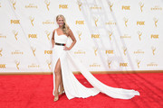 TV personality Nancy O'Dell attends the 67th Annual Primetime Emmy Awards at Microsoft Theater on September 20, 2015 in Los Angeles, California.