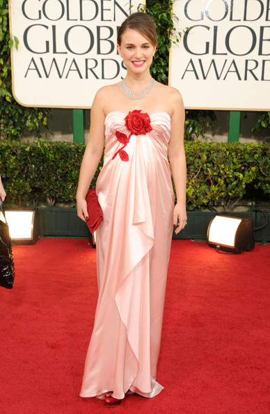 Actress Natalie Portman arrives at the 68th Annual Golden Globe Awards held at The Beverly Hilton hotel on January 16, 2011 in Beverly Hills, California.