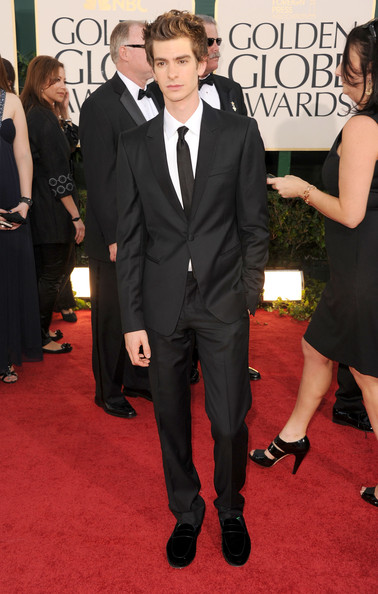 Actor Andrew Garfield arrives at the 68th Annual Golden Globe Awards held at The Beverly Hilton hotel on January 16, 2011 in Beverly Hills, California.