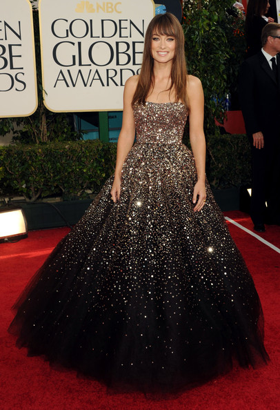 Actress Olivia Wilde arrives at the 68th Annual Golden Globe Awards held at The Beverly Hilton hotel on January 16, 2011 in Beverly Hills, California.