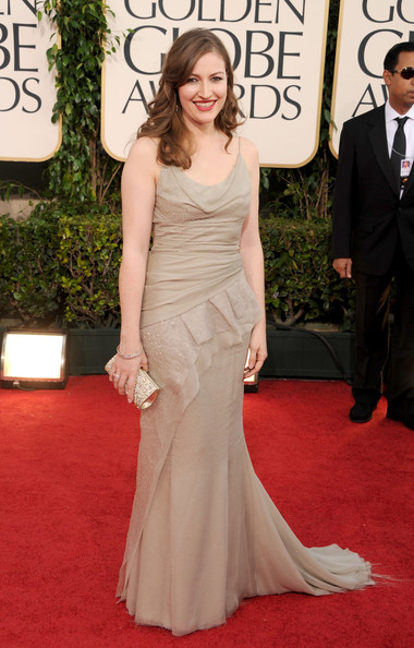Actress Kelly Macdonald arrives at the 68th Annual Golden Globe Awards held at The Beverly Hilton hotel on January 16, 2011 in Beverly Hills, California.