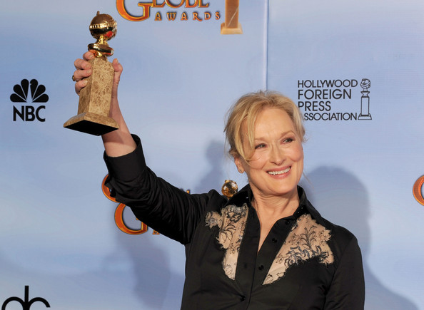 Best Performance by an Actress in a Motion Picture - Drama: Meryl Streep