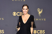 TV personality Louise Roe attends the 69th Annual Primetime Emmy Awards at Microsoft Theater on September 17, 2017 in Los Angeles, California.