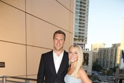 Professional hockey player Brooks Laich and professional dancer Julianne Hough attend the 6th Annual Celebration of Dance Gala Presented by The Dizzy Feet Foundation at The Novo by Microsoft on September 10, 2016 in Los Angeles, California.