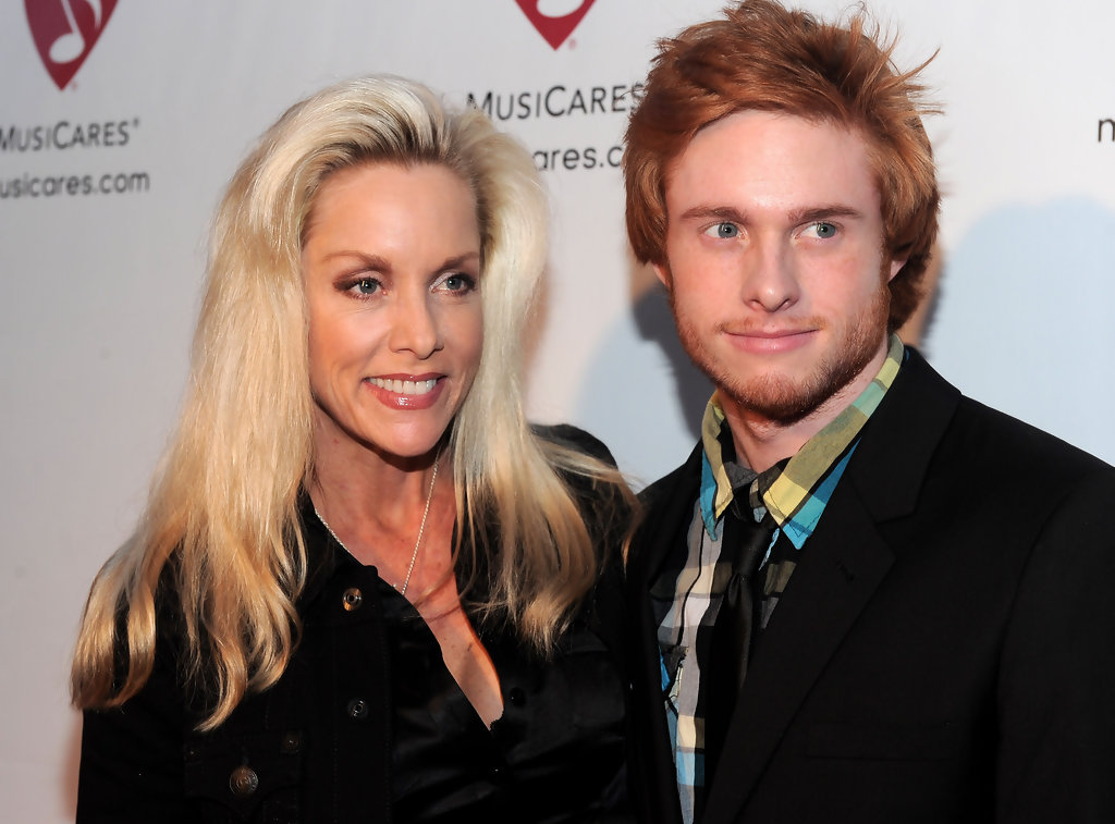 Cherie Currie and Jake...