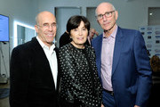 (L-R) Jeffrey Katzenberg, Marilyn Katzenberg, and Kevin McCormick at the 6th Annual Reel Stories, Real Lives event benefiting MPTF at Milk Studios on November 2, 2017 in Hollywood, California.