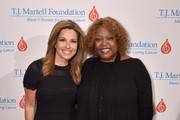 Host Mary Calvi (L) and Honoree Robin Quivers attends the 6th Annual Women Of Influence Awards at The Plaza Hotel on May 11, 2018 in New York City.