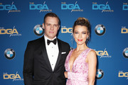 Actors Travis Schuldt (L) and Natalie Zea attend the 70th Annual Directors Guild Of America Awards at The Beverly Hilton Hotel on February 3, 2018 in Beverly Hills, California.