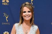 Savannah Guthrie attends the 70th Emmy Awards at Microsoft Theater on September 17, 2018 in Los Angeles, California.