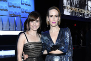 Linda Cardellini and Sarah Paulson attend the 71st Annual Directors Guild Of America Awards at The Ray Dolby Ballroom at Hollywood & Highland Center on February 02, 2019 in Hollywood, California.