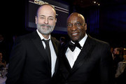 John Landgraf and John Singleton attend the 71st Annual Directors Guild Of America Awards at The Ray Dolby Ballroom at Hollywood & Highland Center on February 02, 2019 in Hollywood, California.