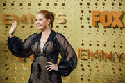 Image has been edited using digital filters) Amy Adams arrives at the 71st Emmy Awards at Microsoft Theater on September 22, 2019 in Los Angeles, California.