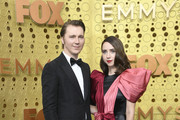 Paul Dano and Zoe Kazan attend the 71st Emmy Awards at Microsoft Theater on September 22, 2019 in Los Angeles, California.