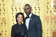 (L-R) Amatus Sami-Karim and Mahershala Ali attend the 71st Emmy Awards at Microsoft Theater on September 22, 2019 in Los Angeles, California.