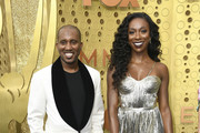 (L-R) Chris Redd and Ego Nwodim attend the 71st Emmy Awards at Microsoft Theater on September 22, 2019 in Los Angeles, California.