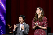 Ken Jeong D'Arcy Carden Photos Photo