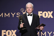 Lorne Michaels poses with award for Outstanding Variety Sketch Series in the press room during the 71st Emmy Awards at Microsoft Theater on September 22, 2019 in Los Angeles, California.