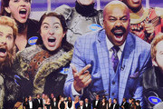 This image is a retransmission)   Lorne Michaels and cast and crew of 'Saturday Night Live' accept the Outstanding Variety Sketch Series award for 'Saturday Night Live' onstage during the 71st Emmy Awards on September 22, 2019 in Los Angeles, California.