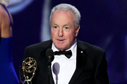 This image is a retransmission)   Lorne Michaels of 'Saturday Night Live' accept the Outstanding Variety Sketch Series award for 'Saturday Night Live' onstage during the 71st Emmy Awards on September 22, 2019 in Los Angeles, California.