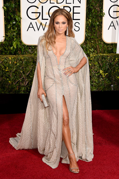 Actress Jennifer Lopez attends the 72nd Annual Golden Globe Awards at The Beverly Hilton Hotel on January 11, 2015 in Beverly Hills, California.