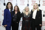 Tina Fey, Rachel Dratch, Paula Pell and Amy Poehler attend the 72nd Annual Writers Guild Awards at Edison Ballroom on February 01, 2020 in New York City.