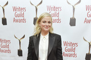 Amy Poehler poses backstage at the 72nd Writers Guild Awards at Edison Ballroom on February 01, 2020 in New York City.