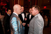 Ryan Murphy and James Corden attend the 73rd Annual Tony Awards Gala After Party at The Plaza Hotel on June 09, 2019 in New York City. (Photo by Bryan Bedder/Getty Images for Tony Awards Productions