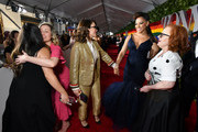 Tina Fey and Lilli Cooper attend the 73rd Annual Tony Awards at Radio City Music Hall on June 09, 2019 in New York City.