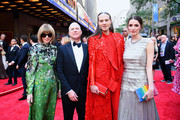 (L-R)  Anna Wintour, Richie Jackson, Jordan Roth and Bee Shaffer Carrozzini attend the 73rd Annual Tony Awards at Radio City Music Hall on June 09, 2019 in New York City.